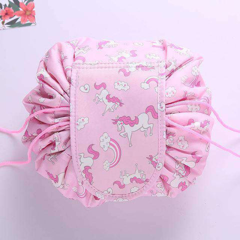 Quick Makeup Bag-Bags-Pink Horse-InCrate.store
