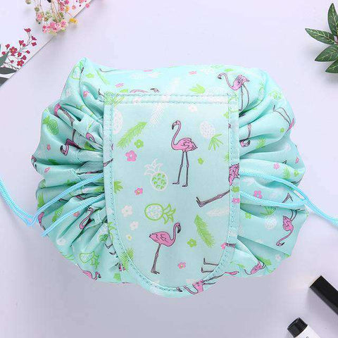 Quick Makeup Bag-Bags-Green Flamingo-InCrate.store