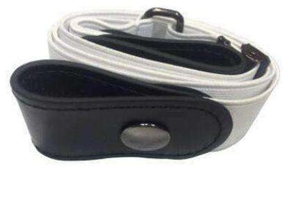 Image of BUCKLE-FREE ELASTIC STRAP BELT-Belt-White-InCrate.store