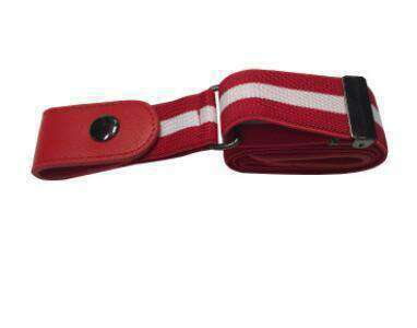 BUCKLE-FREE ELASTIC STRAP BELT-Belt-Red-InCrate.store