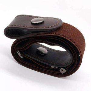 Image of BUCKLE-FREE ELASTIC STRAP BELT-Belt-Gray-InCrate.store