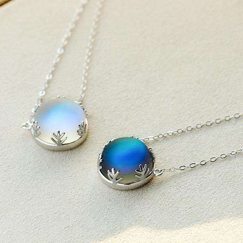 Aurora Forest Necklace-Necklaces-Light-InCrate.store