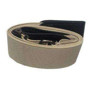 BUCKLE-FREE ELASTIC STRAP BELT-Belt-Coffee-InCrate.store