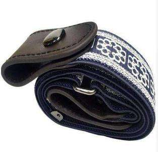 Image of BUCKLE-FREE ELASTIC STRAP BELT-Belt-BlueLace-InCrate.store