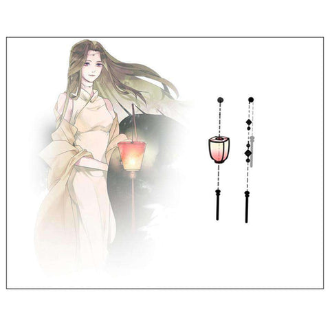Image of Palace Lantern Drop Earrings-Earrings-InCrate.store