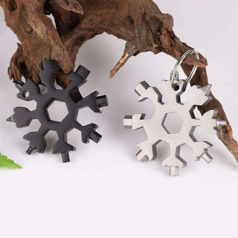18-in-1 Multi Snowflake Tool-Household gadgets-Black-InCrate.store