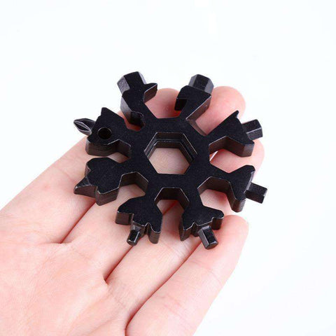 Image of 18-in-1 Multi Snowflake Tool-Household gadgets-Black-InCrate.store