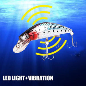 Rechargeable Twitching Fish Lure With USB Charger