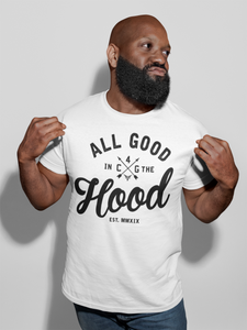 ALL GOOD (MEN'S) WHITE TEE