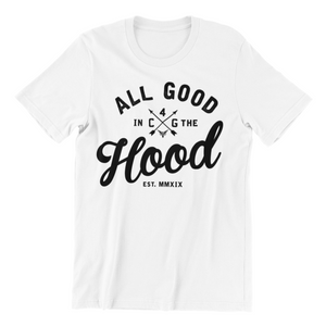 ALL GOOD (WOMEN'S) WHITE TEE