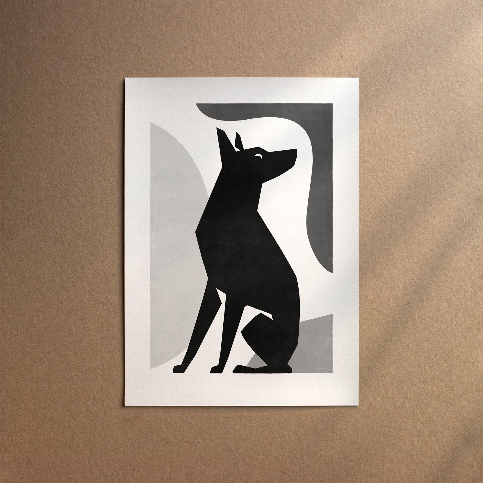 English Toy Terrier  [Form-Black]