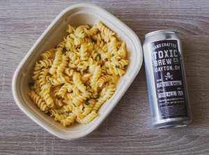 Beer Mac N Cheese with Toxic Brew Co Beer