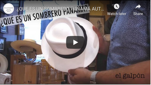 ¿Qué es un Sombrero Panama? | What is a Panama Hat?