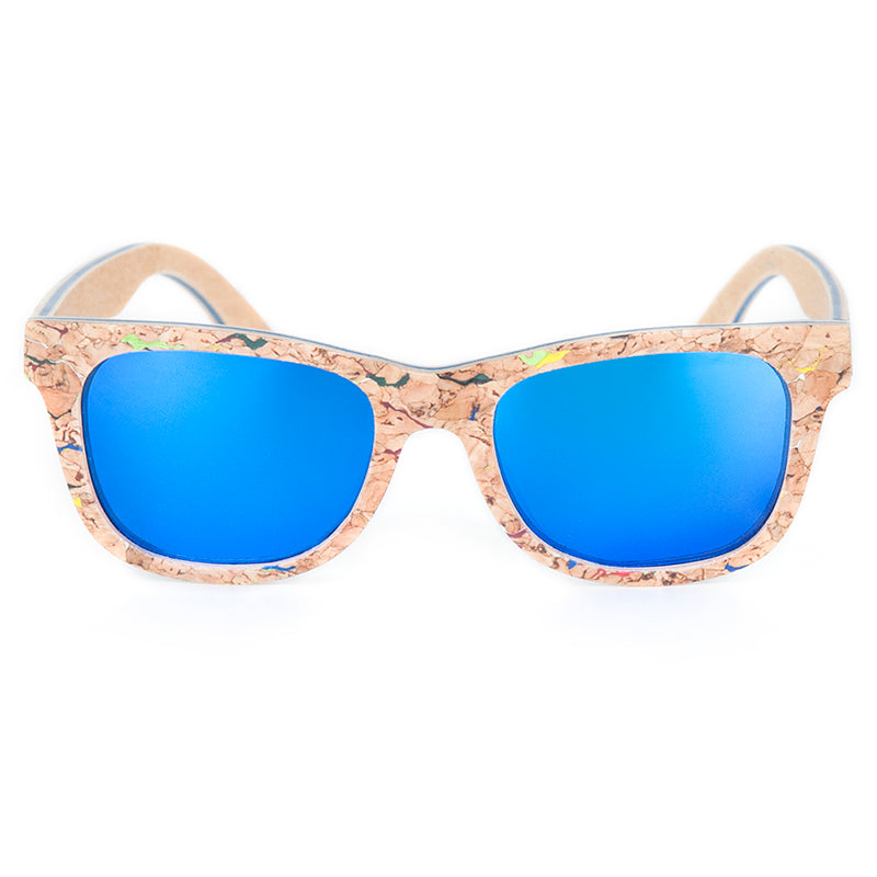 The Square Design Cork Sunglasses - EL CUADRADO CORCHO