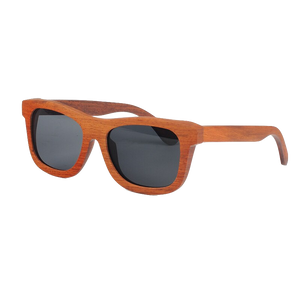 The Square Design Wood Sunglasses - EL CUADRADO
