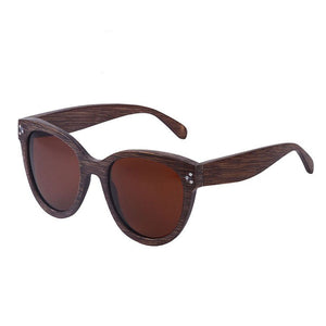 The City Design Wood Sunglasses - LA CIUDAD