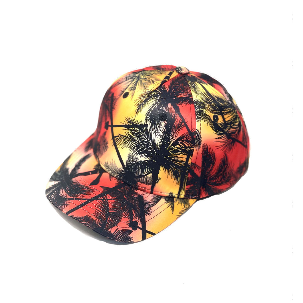 Palms Red & Blue Dad Caps