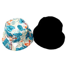 Flamingo Reversible Bucket Caps