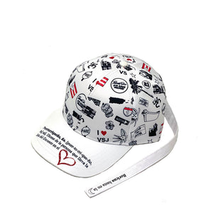 Puerto Rico Graffiti Long Tail Dad Cap