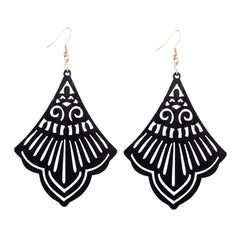 Laser Cut Wood Earrings Wings | Pantallas de Madera Cortadas Laser