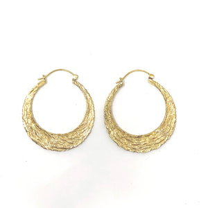 Bali Brass Handmade Earrings