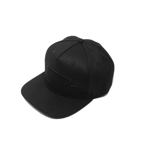 Map of Puerto Rico Flat Bill Snapback Cap | El Mapa