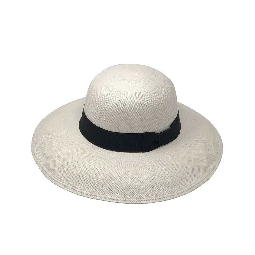 Pamela Alon White  Genuine Panama Hat
