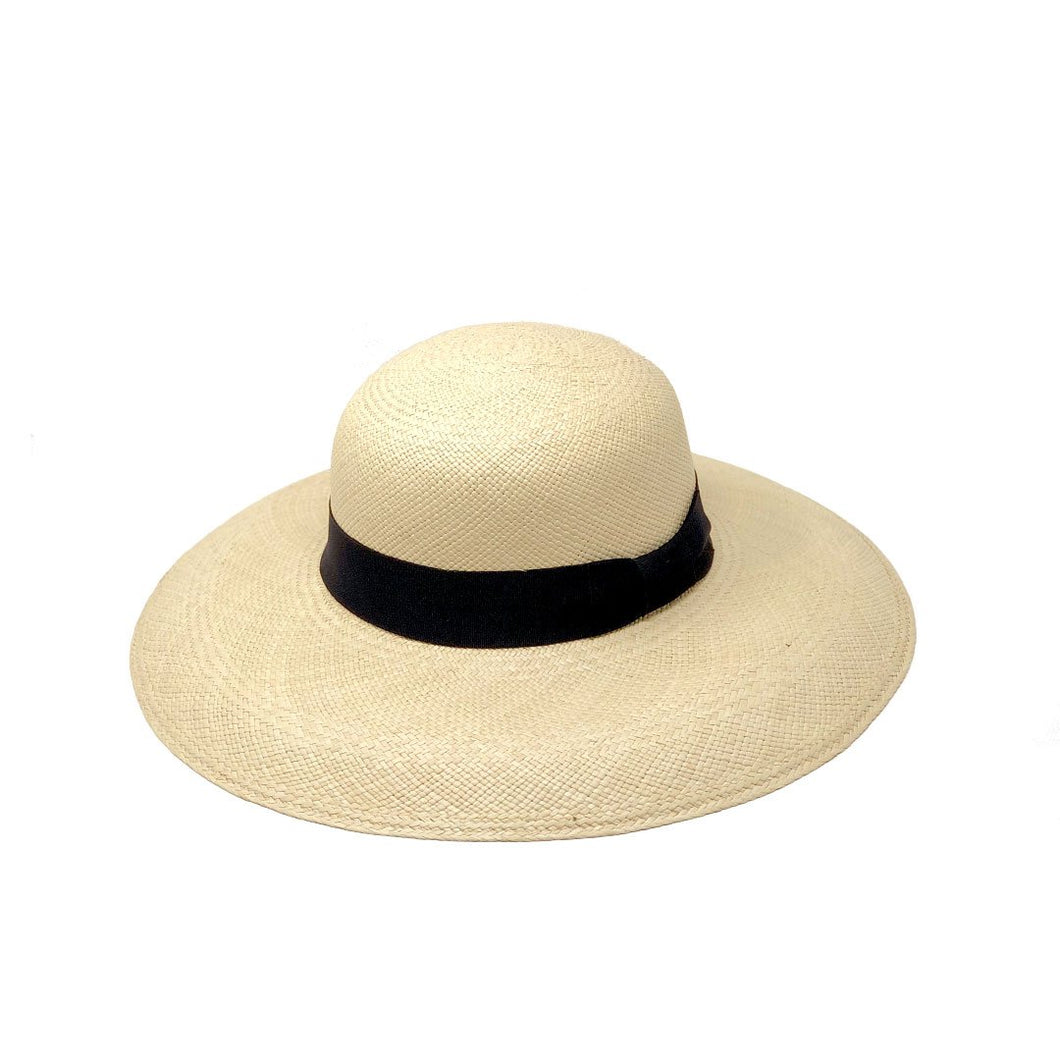 Pamela Alon Natural Genuine Panama Hat