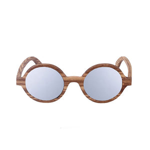 The Orbit Round Wood Sunglasses - LA ÓRBITA