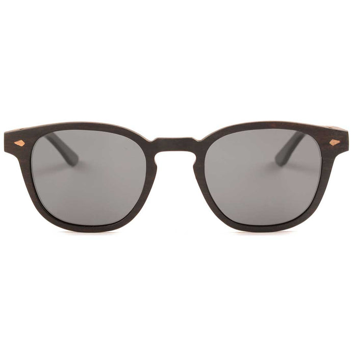The Oval Wood RX Sunglasses - EL OVALO RX