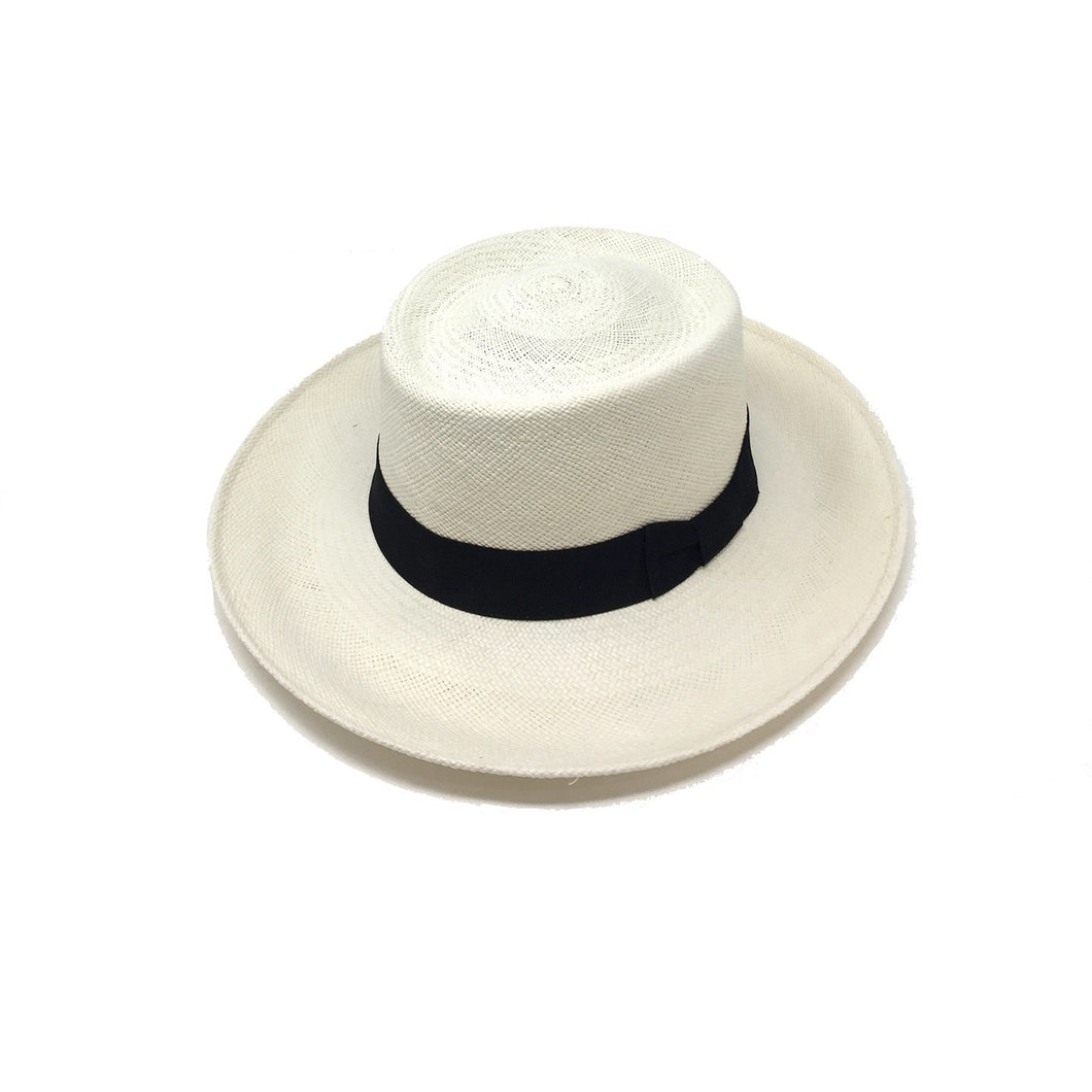 SUMMER HAT, WHITE PANAMA HAT