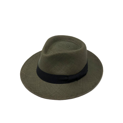 Tradicional Green Genuine Panama Hat