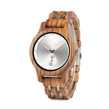 The Industrial Simple Small Dial Unisex Wood and Stainless Steel Watch - EL INDUSTRIAL SENCILLO