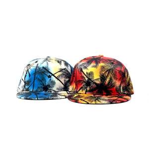 Palms Red & Blue SnapBack Caps