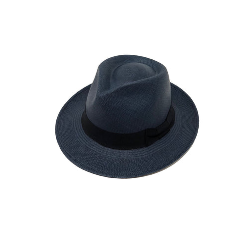 Tradicional Blue Genuine Panama Hat
