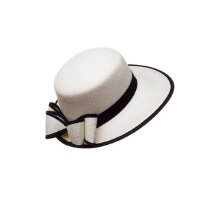Visera White Genuine Panama Hat