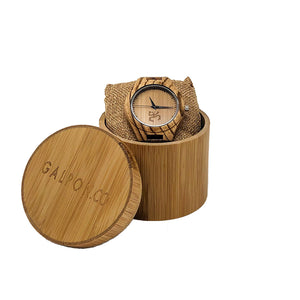 The Taino Series Natural Wood Watch - TAINO