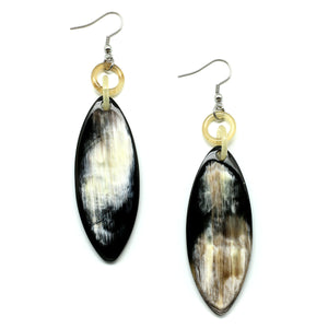 Lightweight Horn Board Earrings | Pantallas Cuerno Boards