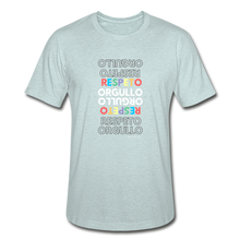 Orgullo Respeto Slim Fit T-Shirt - heather prism ice blue