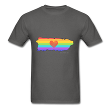 Love is Amor PR Map Classic Fit T-Shirt - charcoal