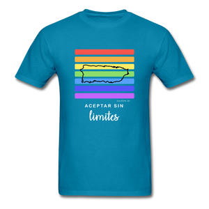 Aceptar Sin Limites Classic Fit T-Shirt - turquoise