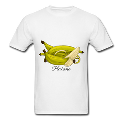 Platano Men's T-Shirt - white