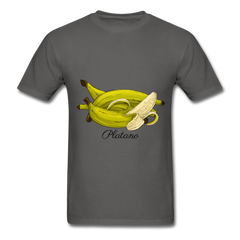 Platano Men's T-Shirt - charcoal