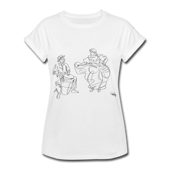 Conga y Baile Pa' Ti' - Women's Relaxed Fit Puerto Rico TShirt White - white