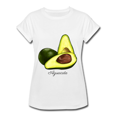 Aguacate Women's Relaxed Fit T-Shirt - White - white