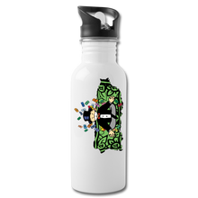 Umh Puerto Rico Water Bottle - white