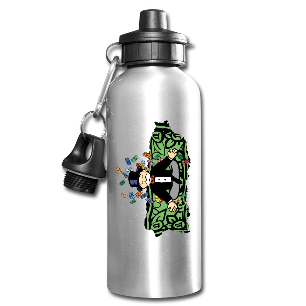 Umh Puerto Rico Water Bottle - silver