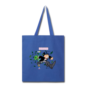 Monopoly Tote Bag - royal blue