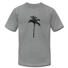 PALM Stretched Unisex Jersey T-Shirt - slate
