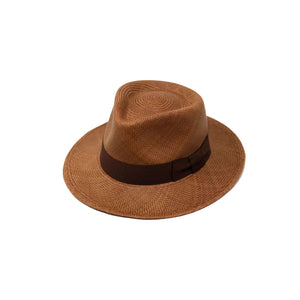 Tradicional Chocolate Genuine Panama Hat